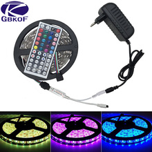 Buy 10M 5M 3528 5050 RGB LED strip light non waterproof led light 10M flexible rgb diode led tape set+Remote Control+Power Adapter for $7.19 in AliExpress store