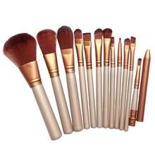 2016 New 1 Set Pro Make Up Brushes For Powder Foundation Eyeshadow Lip Pincel Maquiagem Free Shipping & Wholesale