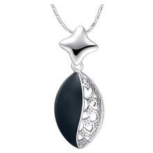 Wholesale Best Quality Platinum Plated Austria Crystal Necklace & Pendant,Fashion Rhinestone Necklace,GYN1071(China (Mainland))