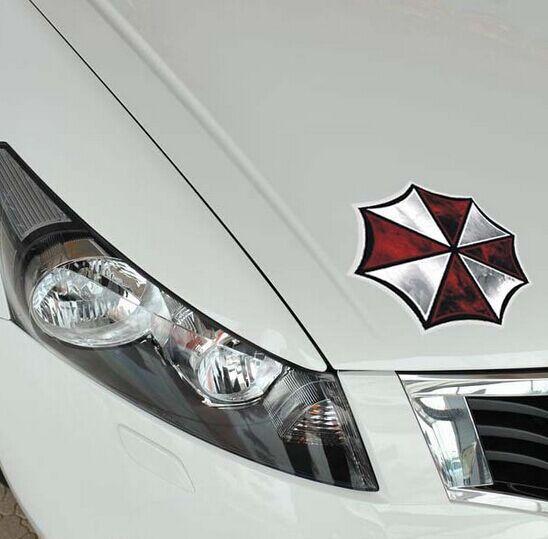 Umbrella Car Stickers Ken Block Car Reflective Decal Stickers for Toyota Ford Chevrolet Volkswagen Honda Hyundai