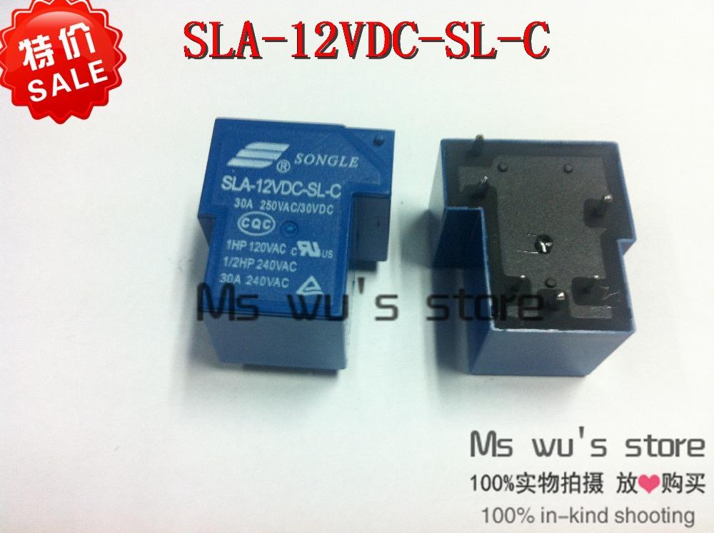 Реле 20 SONGLE T90 4 DC 12 sla/12vDC/sl SLA-12VDC-SL-A