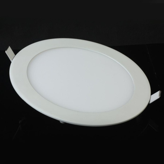 Free shipping 3w 6w 9w 12w 15w 18w led panel light high bright kitchen bathroom bedroom white ceiling downlighting lamps(China (Mainland))