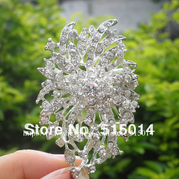 Free Shipping ! 200pcs/lot Wedding Rhinestone Brooch With Pin .Price Negotiable for Large Order