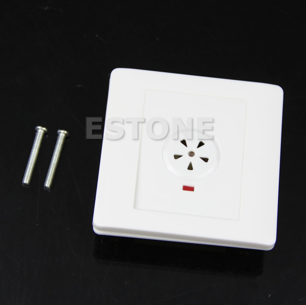 2-Wire System Sound Motion PIR Sensor Light Wall Mount Control Touch SwitchFreeshipping -Y103(China (Mainland))