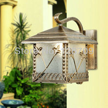 Free Shipping,Restoring Ancient Ways Lamp,E27 220V Simple Outdoor Wall Lamp,Balcony Lamp,Garden Light,Yard Lamp outdoor lighting(China (Mainland))