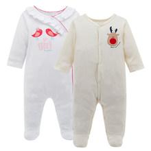 Kavkas/комплект из 2 предметов, детский комбинезон весенний Одежда для новорожденных мальчиков Одежда для маленьких мальчиков комплект одежды...(China)