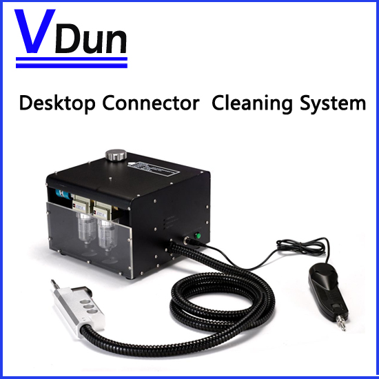 Free shipping via DHL Desktop Fiber Optic Connector Cleaning system fiber cleaning Machine VD-FC3 Used FTTX Construction(China (Mainland))