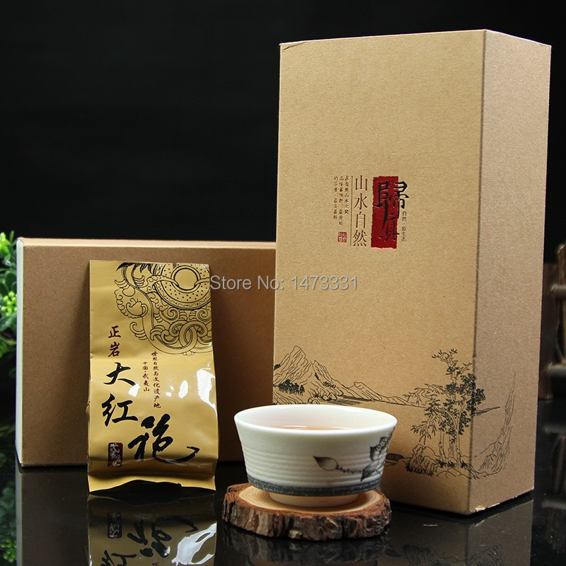2015 Wuyi Yancha Oolong Dahongpao Tea 150g Da Hong Pao Oolong Tea Wuyi Rock Tea Da