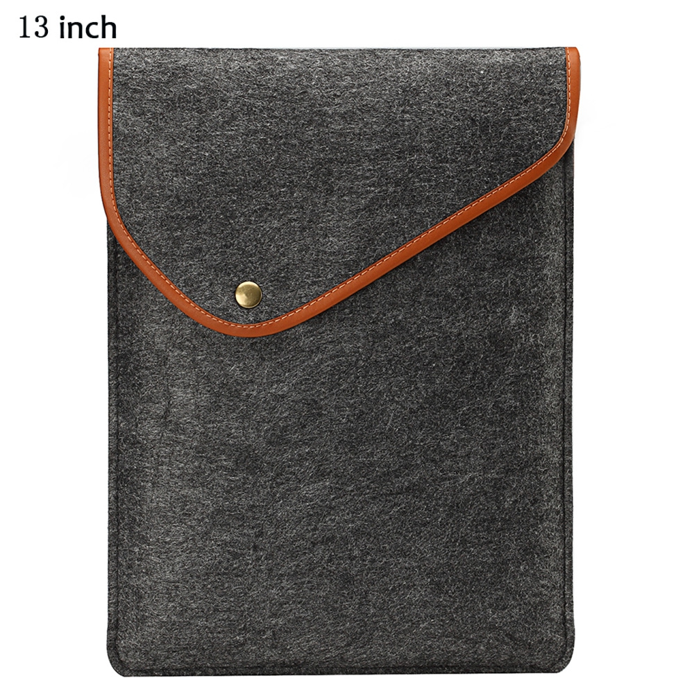 Ultra Thin Felt Sleeve Protective Full Body Cover Bag for MacBook Air / Pro 13 inch(China (Mainland))