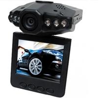 "Free Shipping 10pcs/lot 2.5"" Car Dvr 120 Wide Angle 720P Car Camera Recorder H198 Infrared Night Vision Tachograph(China (Mainland))"