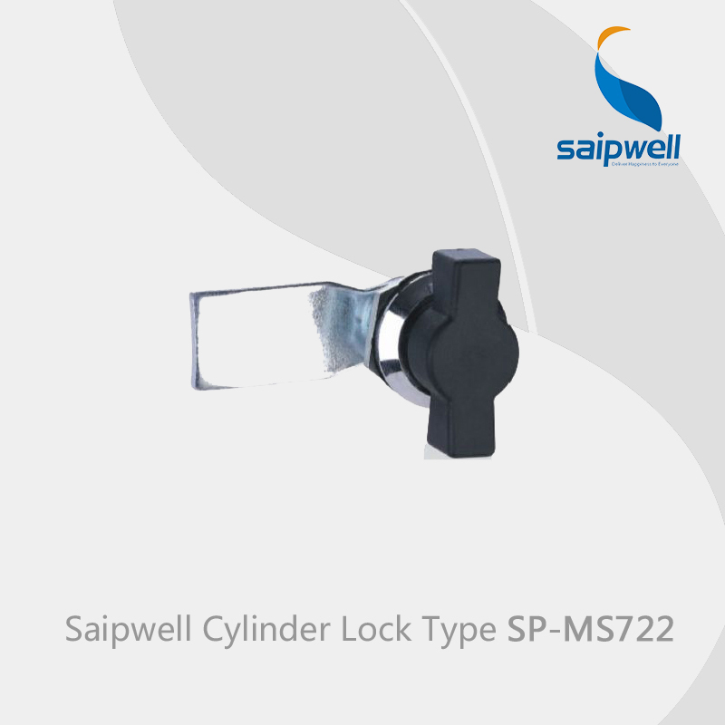 Saipwell Industrial / Kitchen industrail zinc alloy door cylinder lock use for cabinet SPMS722 in 10-PCS-PACK(China (Mainland))
