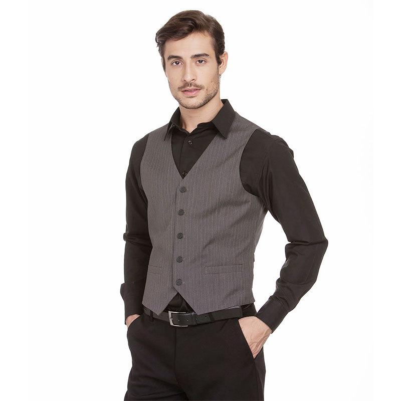 buy british style autumn slim brand men 39 s fit suit vest waistcoat gilet colete at buyincoins. Black Bedroom Furniture Sets. Home Design Ideas