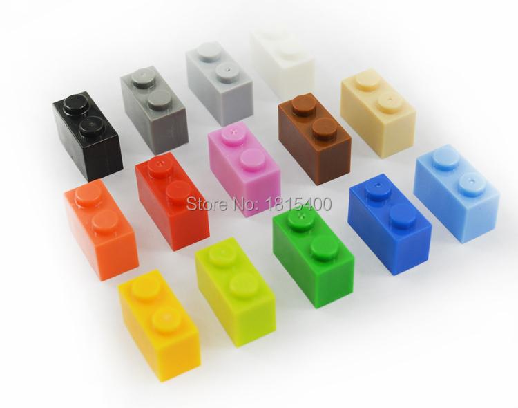DIY Toy Kids Plastic Building Bricks Blocks Set 1X2 Educational Construction Toys Compatible With Lego Blocks Parts 300pcs/lot(China (Mainland))