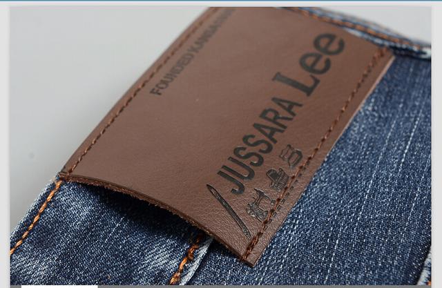 2016 бесплатная доставка модный бренд регулярные прямые новые люди джинсы свободного ...
