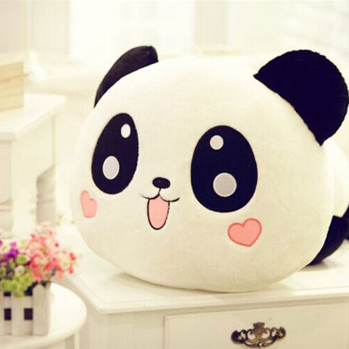 Гаджет  Cute Plush Doll Toy Stuffed Animal Panda Pillow Quality Bolster As Gift 20cm None Игрушки и Хобби