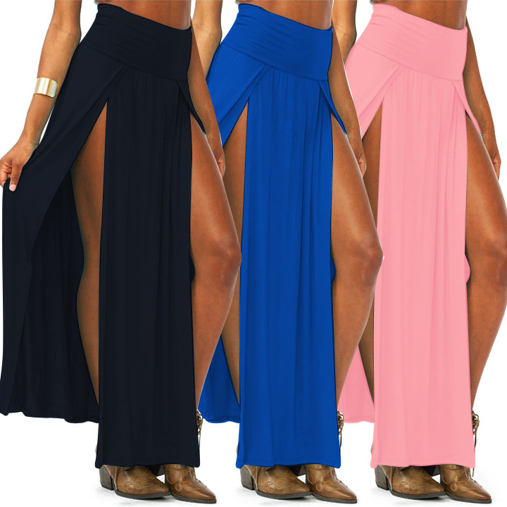 maxi skirt 2014 new gift for trends high waisted