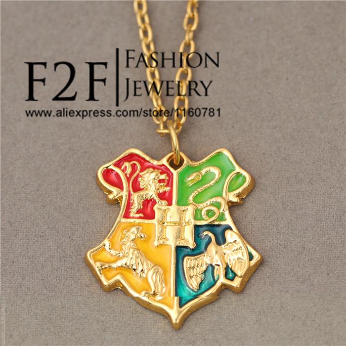 F2F Hogwarts School necklace\keychain XL046/XL093HG(China (Mainland))