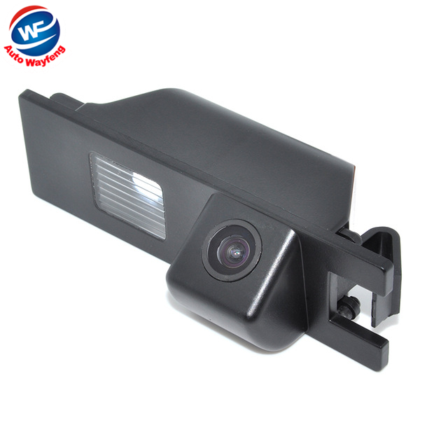HD CCD Car rear view camera for Renault Megane waterproof night version 170 degrees High resolution Free Shipping(China (Mainland))