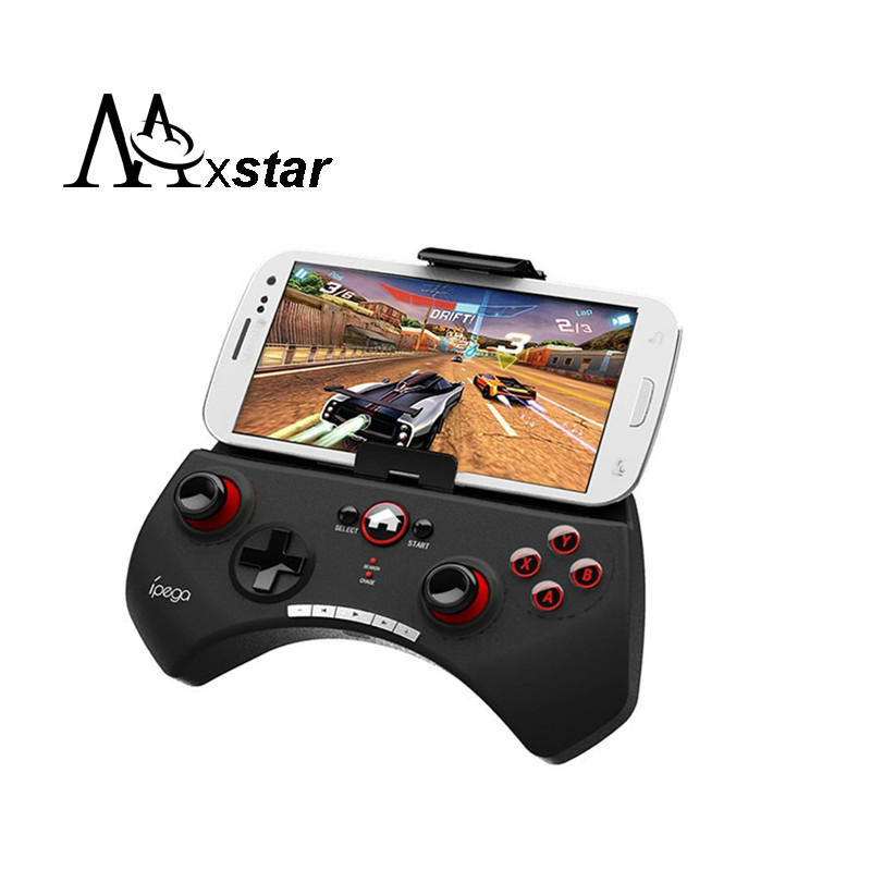 Ipega PG-9025 Gaming Bluetooth Controller Gamepad Joystick For iPhone iPad Samsung HTC Moto Android Tablet PCS Black New D5112A(China (Mainland))