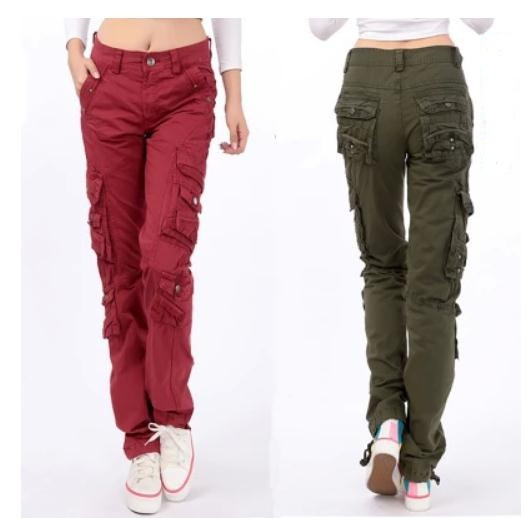 Lastest Information About Walls Cotton Cargo Pants  Relaxed Fit For Women