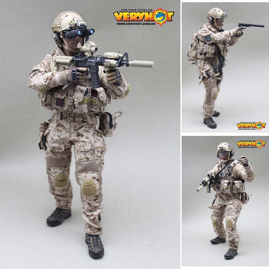 Toys For Seals : Hot figure toy vh veryhot navy seal devgru free