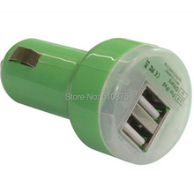 Wholesale 5V3.1A Dual Usb Car Charger Phone Mini Usb Charger For Samusng