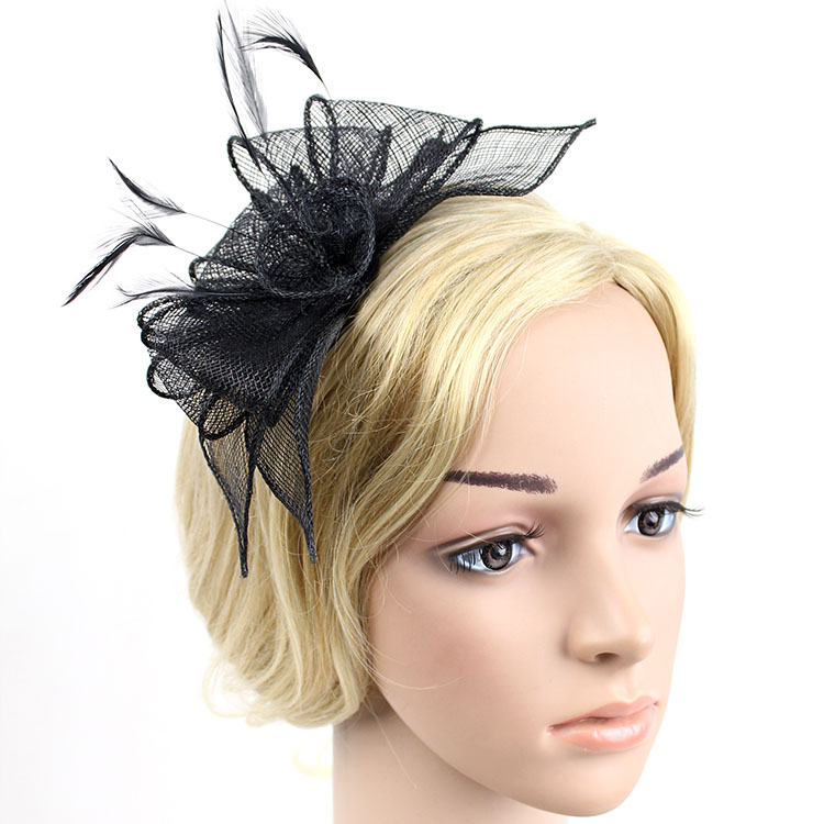 High quality sinamay fascinator, tocados sombreros bodas,hair fascinators for weddings(China (Mainland))