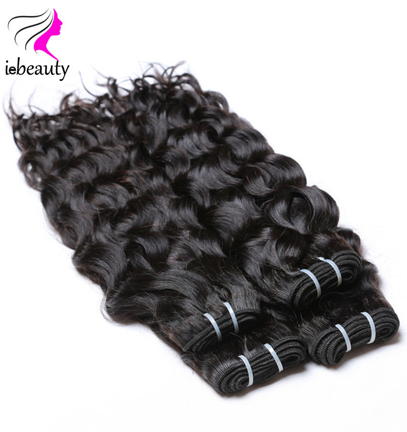 4 Bundles 7A Brazilian Virgin Hair Natural Wave Brazilian Hair Weave Bundles Brazilian Human Hair Curly Weave Human Hair Bundles