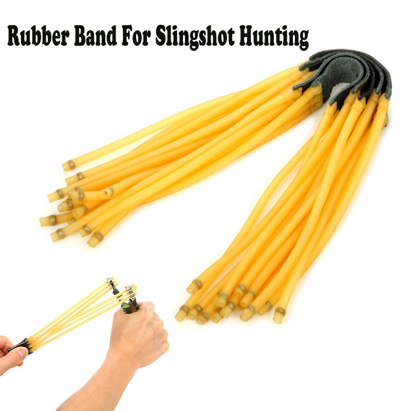 3 3 Rubber belt 5PCS set Outdoor Bow Arrow Elastic Elastica Rubber Slingshot Catapult Hunting 3050