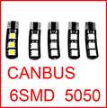 Лампочка освещения прибора - 4 /6 SMD BA9S T4W 5630 BA9S