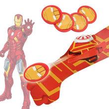 5 Tipos de PVC 24 cm Figura de Ação Do Homem Aranha Batman Luva Lançador brinquedo Crianças Adequado Homem Aranha Traje Cosplay Vem Com Varejo caixa(China)