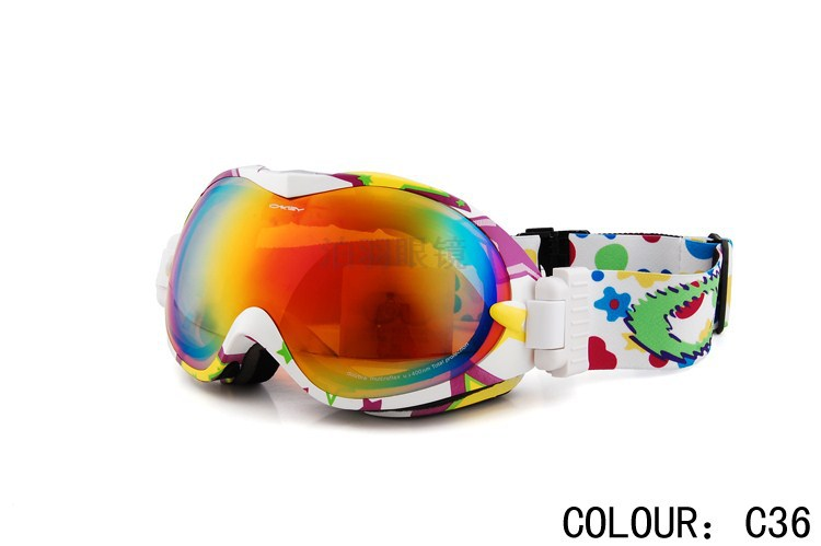 Fashion Mens & Women Ski Sports Goggles snowboard glasses Male skiing eyewear ski mirror Sunglasses - Outdoor Specialist store