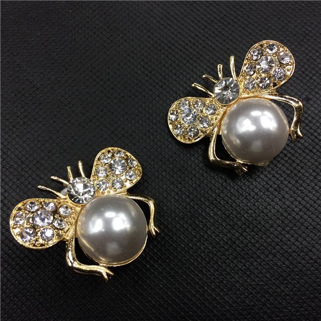 ib5288 pearl bee cute woman fashion jewelry designer inspired luxury