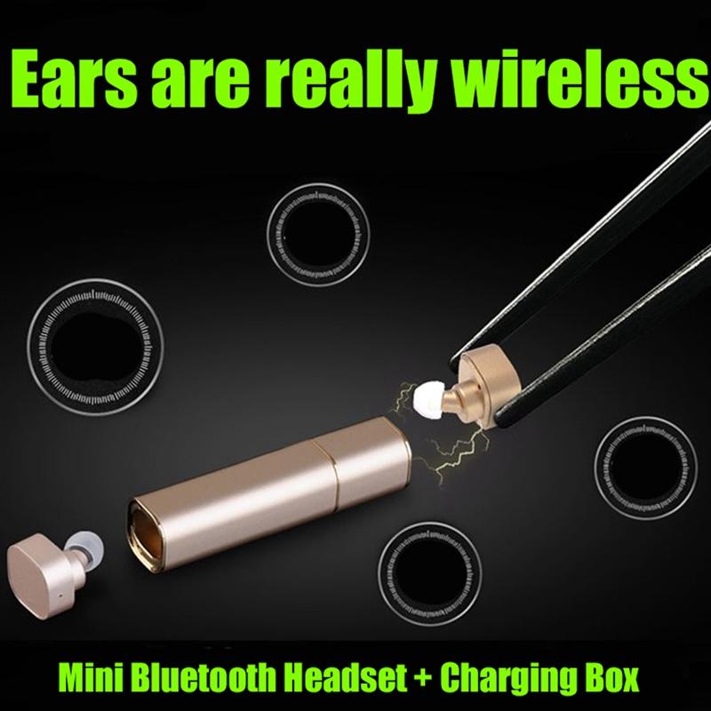 Ollivan K2 Twins Bluetooth Headset Mini TWS Binaural Wireless Earphones Metal Earbuds With Mic Stereo Auriculares For iPhone LG