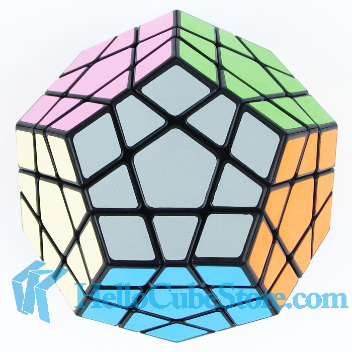 Free Shipping MF8 9cm big Megaminx transparent red and black Welcome To Buy(China (Mainland))