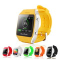 2015 Smart Android phone watch 1 65 inch Capacitive touch screen Bluetooth GPS watch with Pedometer