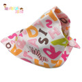 Baby Bibs Girl Boy Bandana Bibs Triangle Infant Saliva Towel Burp Cloth Baby Accessories Feeding Smock