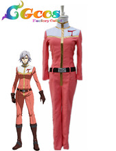 Free Shipping Cosplay Costume MOBILE SUIT GUNDAM IRON-BLOODED ORPHANS AZEE GURUMIN Uniform New in Stock Halloween Christmas