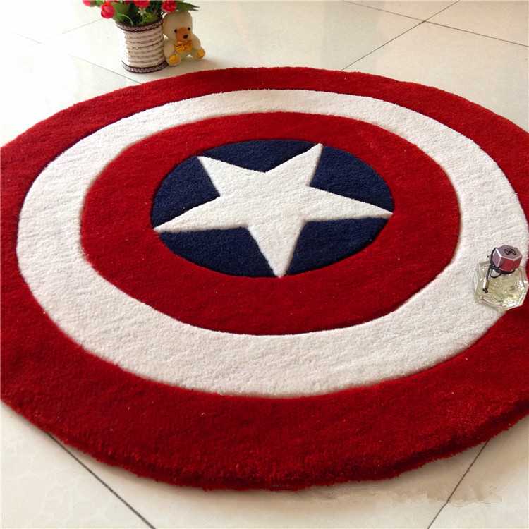 S&V Europe And America Popular Fashion Red Star Carpets