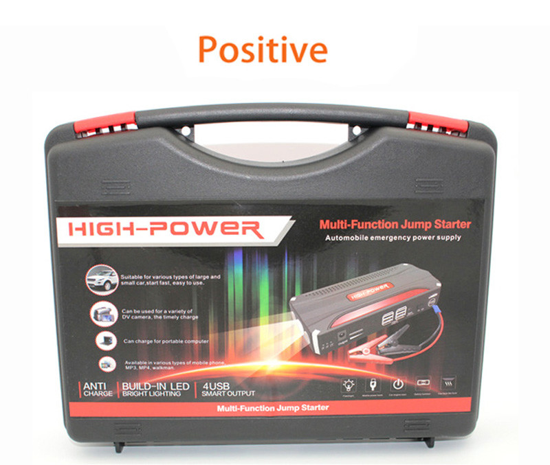 NEW Car Air Pump +High Capacity 68800mAh Car Jump Starter Mini Portable Emergency Battery Charger for Petrol & Diesel Car