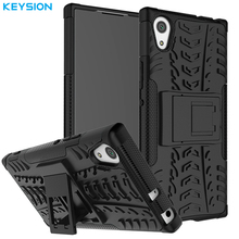 Buy KEYSION Case Sony Xperia XA1 Covers Hard Luxury Plastic Silicon Back Armor Covers Phone Bags & Cases Sony XA1 5.0 inch for $5.99 in AliExpress store