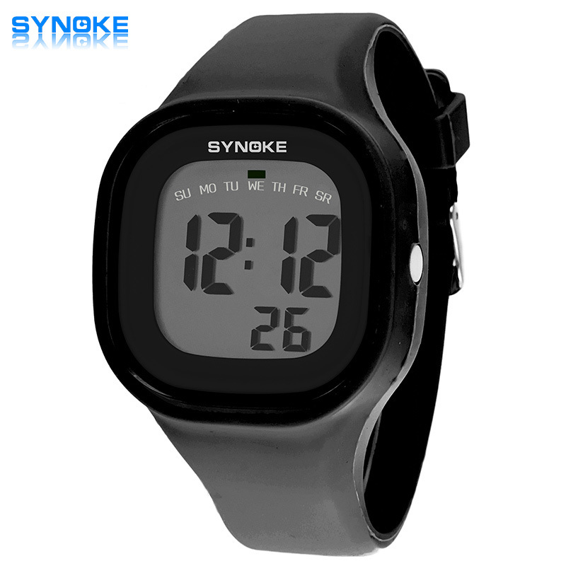7 colors SYNOKE 2016 Hot Silicone Jelly Children Watches New Brand Waterproof Kids Watch Fashion Sports LED Digital-watch gift(China (Mainland))