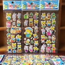 Buy 2015 cartoon tiger qiaohu bubble stickers, 3D Cartoon tiger wall stickers Children's Gift toys Early education stickers for $1.42 in AliExpress store