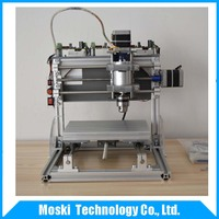 Diy CNC engraving machine , working area 180*140*35mm ,PCB Milling Machine CNC Wood Carving Mini Engraving router PVC