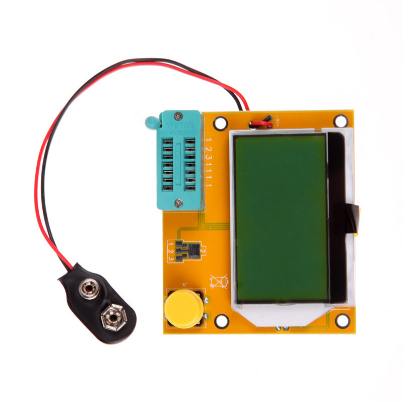 LCR-T4 LCD Backlight ESR Meter Transistor Tester Diode Triode Capacitance SCR Inductance Tester New Promotion Free Shipping