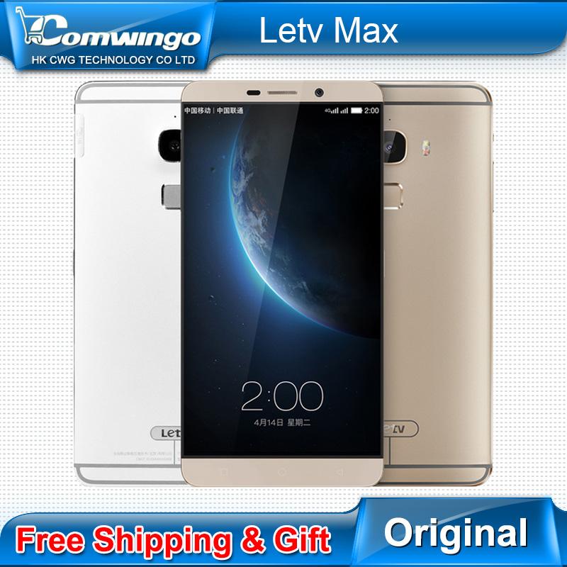 New Origanal Letv Le Max x900 4G RAM 32/64/128GB ROM 6.33 Inch 2560*1440P Qual-comm 810 Octa Cor 4G LTE 3400mAh Fingerprint