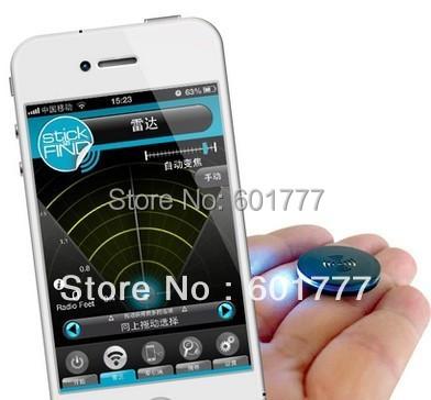 Stick N Finder Anti-Lost Finder Anti-theft Burglar Alarm for iPhone 5 4S iPad 4 Mini Bluetooth 4.0 Smart APP bluetooth alarm f<br><br>Aliexpress