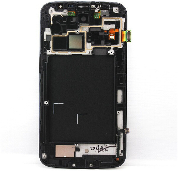 Display Samsung Galaxy Mega 6.3 i9200 i9205 i527 LCD Touhch screen Digitizer Frame Assembly Replacement Blue Color - ifix store