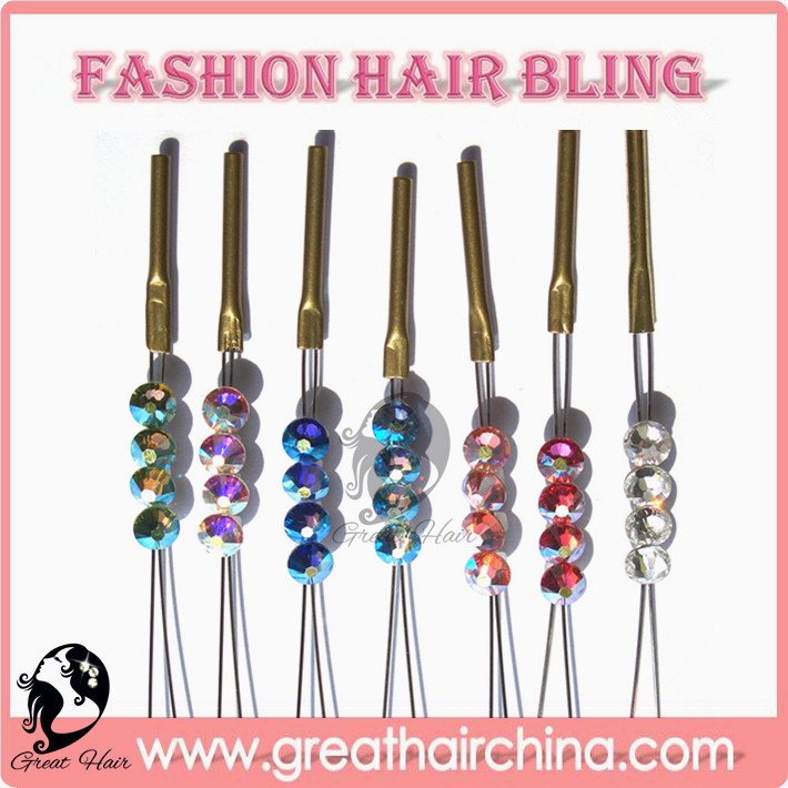 buy Weaving Wig Cap will get a Bride Fashion Romantic Crystal Hair Bling Hair Jewelry 8 Colors 150 Packs Free Shipping by DHL(China (Mainland))