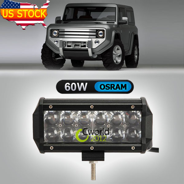 Система освещения Osram led light bar 7/60w OSRAM 4 x 4 ATV Offroad система освещения brand new 50 288w offroad 4wd atv 4 x 4